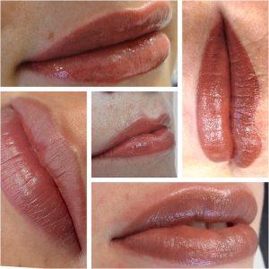 Collage lip